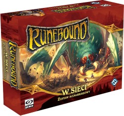 Runebound - W Sieci (zestaw scenariuszowy do trzeciej edycji)