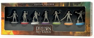 Zestaw figurek do gry Dead Men Tell No Tales